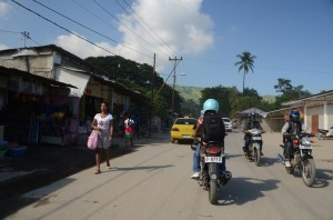 Going to visit borrowers in Dili.