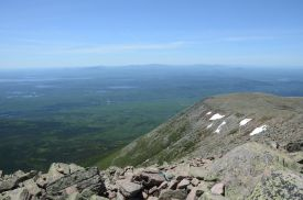 View from the Summit of Katahdin